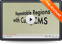 Repeatable Regions with CushyCMS